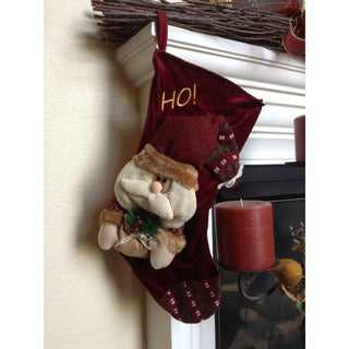 HO! Santa Christmas Stocking