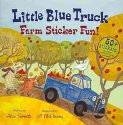 Little Blue Truck Farm Sticker Fun! (Paperback)
