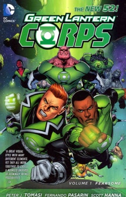 Green Lantern Corps 1: Fearsome (Paperback)