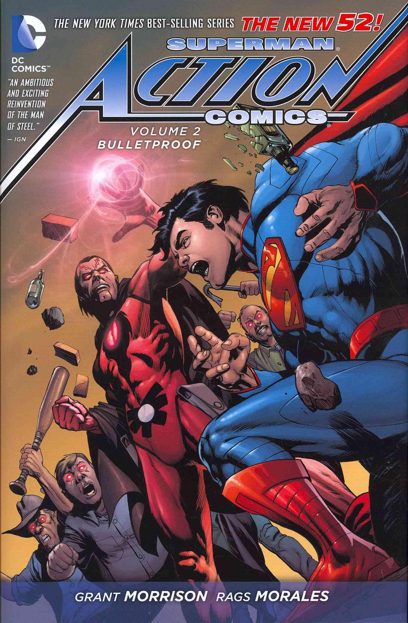 Superman Action Comics 2: Bulletproof (Hardcover)