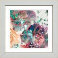 Studio Works Modern 'Scented Bloom Coral' Framed Print