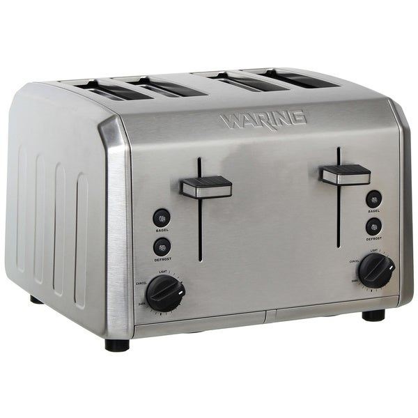 Waring Pro WT400 Stainless Steel 4-slice Toaster (Refurbished)