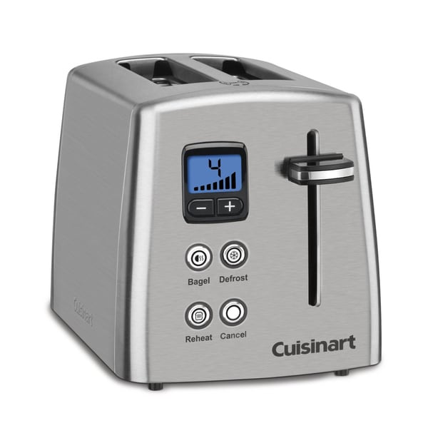 Cuisinart CPT-415 Stainless Steel 2-slice Countdown Digital Toaster
