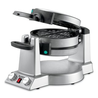 Waring WMR300 Brushed Stainless Steel Belgian Waffle and Omelet Maker