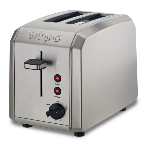 Waring Pro WT200 Stainless Steel 2-slice Toaster