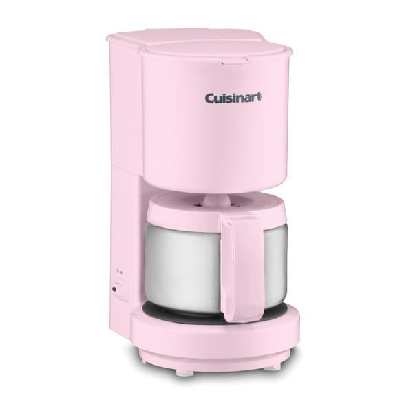 Cuisinart DCC-450PK Pink 4-cup Coffeemaker