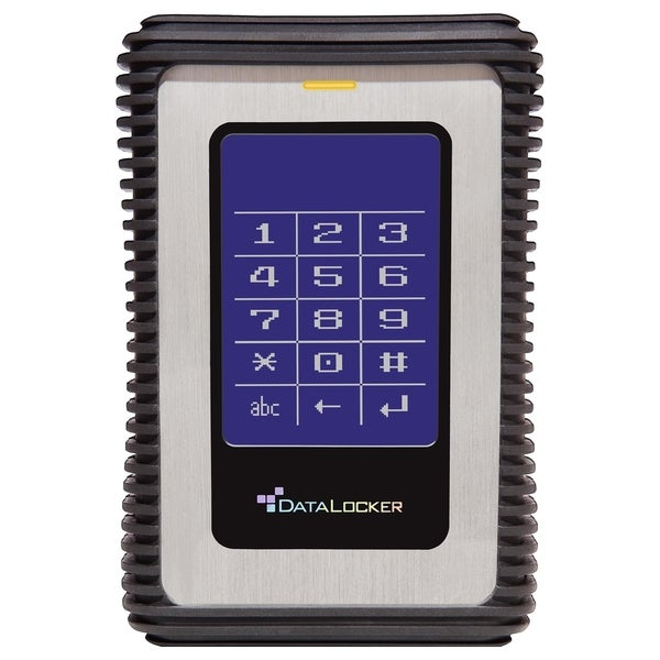 DataLocker DL3 1.5 TB Encrypted External Hard Drive with RFID Two-Fac