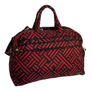 Jenni Chan Women's Signature 20-inch Carry On Soft Gym Duffel Bag