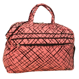 Jenni Chan Women's Brush Strokes 20-inch Carry On Soft Gym Duffel Bag