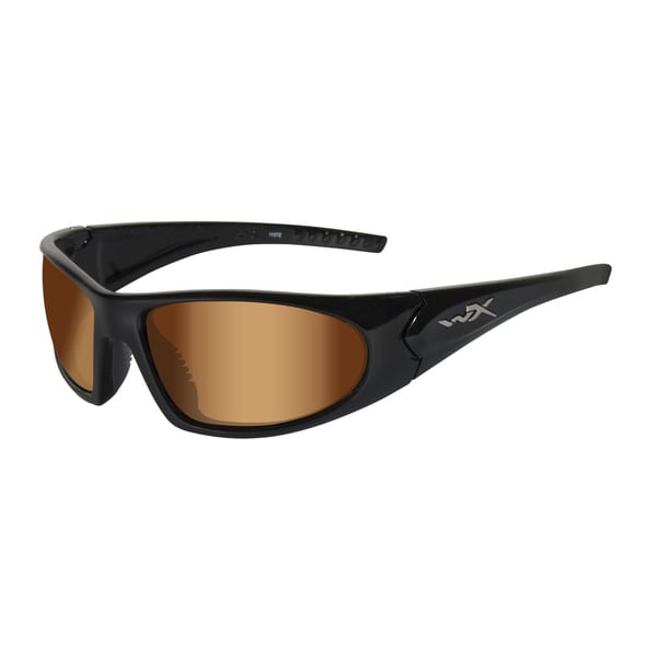 Willey X Zen Active Series Bronze Flash/ Gloss Black Sunglasses