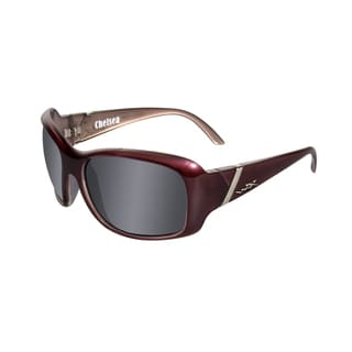 Willey X Chelsea Street Series Smoke Grey/ Liquid Plum Sunglasses