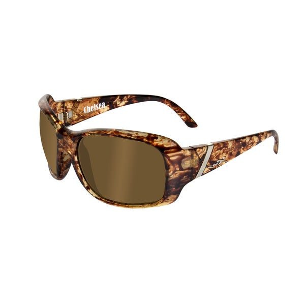 Willey X Chelsea Polarized Street Series Bronze/ Iced Tea Sunglasses