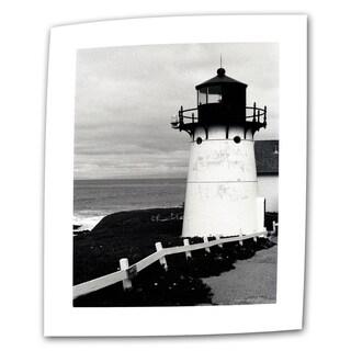 Kathy Yates 'Montara Lighthouse' Vertical Canvas Art