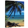 Kathy Yates 'Beautiful Anini Beach' Canvas Art