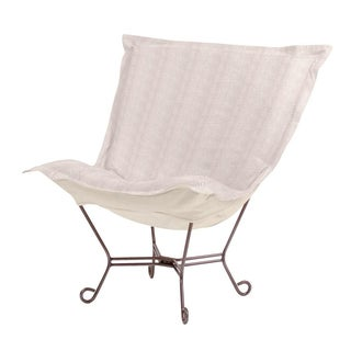 Sand Herringbone Heavenly Chair