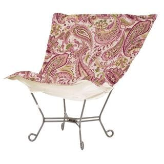 Pink and Green Paisley Heavenly Chair