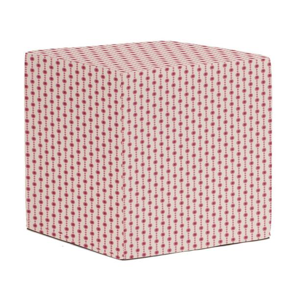 No-Tip Seating Block with Pink Dots