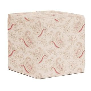 No-Tip Pink and Green Paisley Seating Block