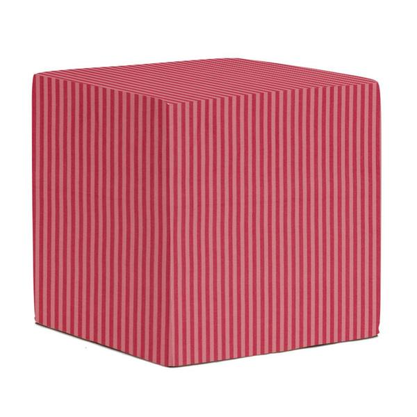 No-Tip Pink Stripe Seating Block
