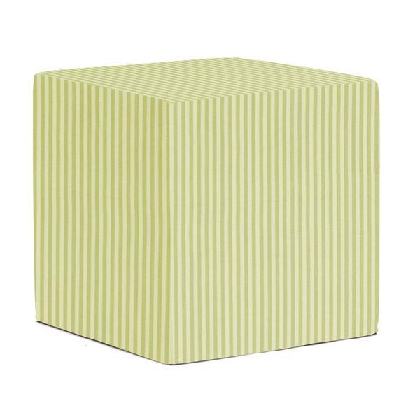 No-Tip Green Stripe Seating Block