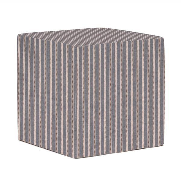 No-Tip Blue & Red Stripe Seating Block