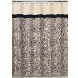 Sweet Jojo Design Safari Shower Curtain