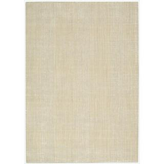 Nepal Curved Lines Manil Rug (7'9 x 10'10)