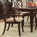 Cheshire Rich Espresso 7-piece Traditional Dining Set