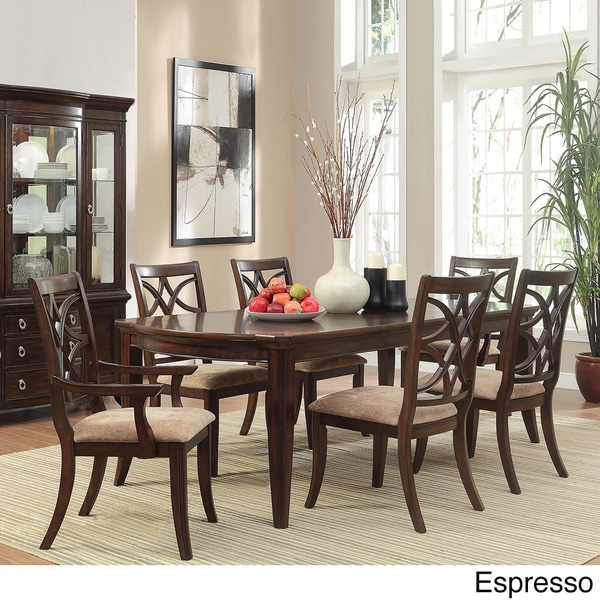 home cheshire 7 piece traditional dining set 15014142 overstock