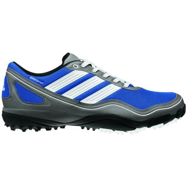 adidas Men's puremotion Golf Shoe - Satellite/White/Metallic Silver
