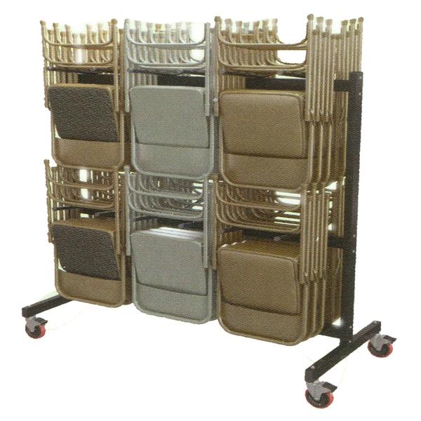 Mayline Folding Chair Cart for Mayline Folding Chairs