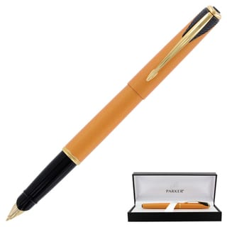 Parker Inflection Radiant Yellow Fountain Pen