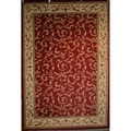 Veronica Red Area Rug (5'3 x 7'7)
