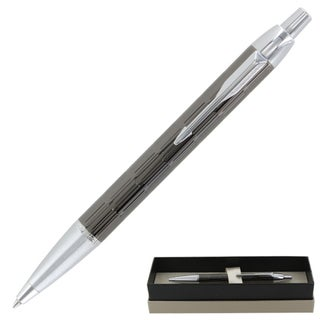 Parker IM Premium Twin Custom Chiselled CT Retractable Ball Point Pen