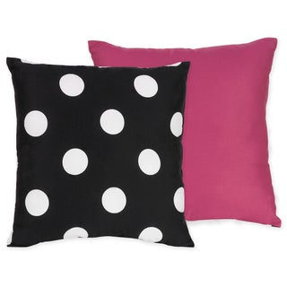 Sweet JoJo Designs Hot Dot Decorative Throw Pillow