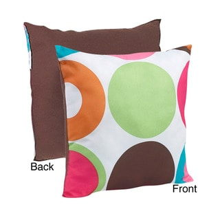 Sweet Jojo Designs Deco Dot Decorative Throw Pillow