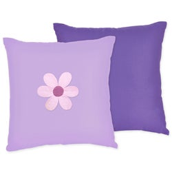 Sweet JoJo Designs Danielle's Daisies 16-inch Reversible Decorative Pillow