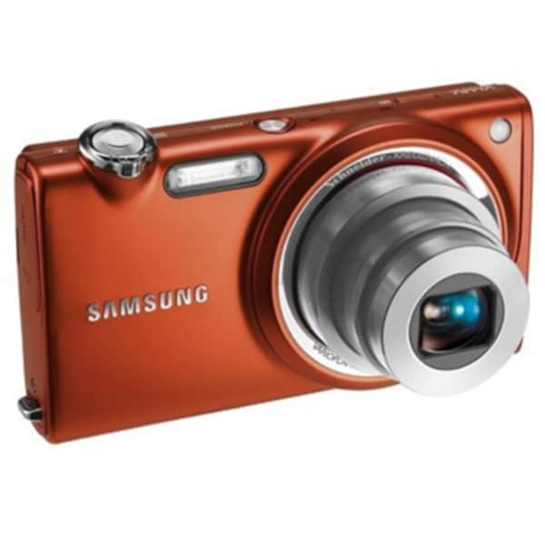 Samsung ST70 14.2MP Orange Digital Camera