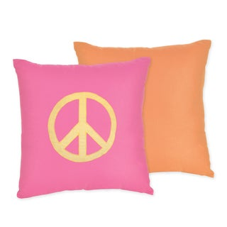 Sweet JoJo Designs Groovy 16-inch Reversible Decorative Throw Pillow