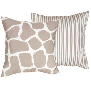 Sweet JoJo Designs Giraffe 16-inch Decorative Throw Pillow