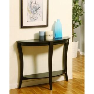 Furniture of America Renesme Cappuccino Finish Ridge Sofa Table