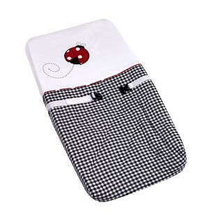 Sweet JoJo Designs Ladybug Polka Dot Changing Pad Cover