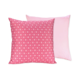 Sweet JoJo Designs 'Song Bird' Pink Reversible 16-inch Decorative Pillow
