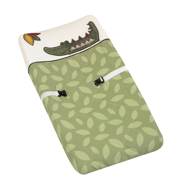 Sweet JoJo Designs Jungle Time Baby Changing Pad Cover
