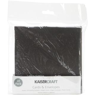 Square Card Pack-Black