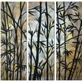 Megan Duncanson 'Bamboo Shoots' Metal Wall Decor
