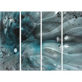 Megan Duncanson 'Turquoise Ecstasy IV' Metal Wall Art