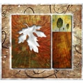 Megan Duncanson 'Leaflet and The Hill' Metal Wall Art