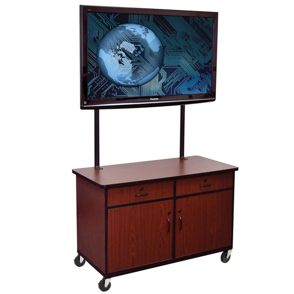 Offex 65-inch Wood Universal LCD Mount TV Cabinet