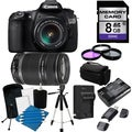 Canon EOS 60D Pro Digital SLR Camera with 18-55 & 55-250 IS II Lens Bundle